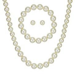 Mood - Cream pearl jewellery set