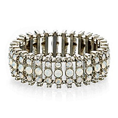 Mood - Opalesque stone stick stretch bracelet
