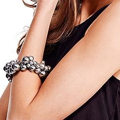 Mood - Blue cluster pearl bracelet