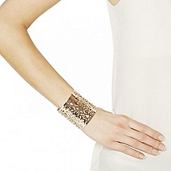 Mood - Statement gold filigree cuff