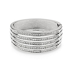 Mood - Crystal embellished five row bangle