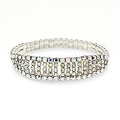 Mood - Aurora borealis bar stretch bracelet