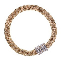 Mood - Twisted mesh bracelet