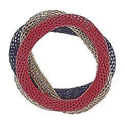 Mood - Mesh colour bracelet set