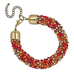 Mood - Chunky beaded tribal bracelet