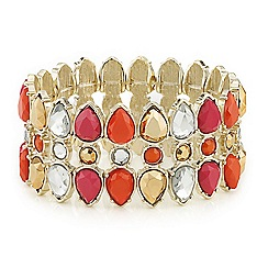 Mood - Crystal navette stretch bracelet