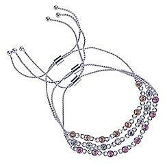 Mood - Three pack crystal toggle bracelets