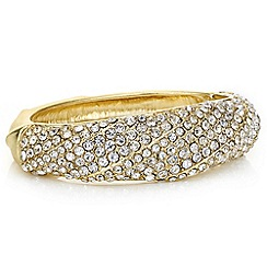 Mood - Gold pave crystal bangle