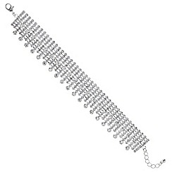 Mood - Silver crystal stick bracelet