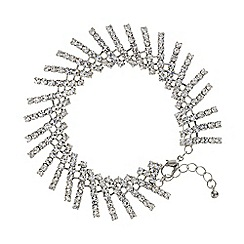 Mood - Silver crystal stick bracelet