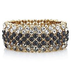 Mood - Black tonal crystal bracelet