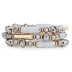 Mood - Rose gold beaded bracelet pack