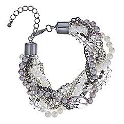 Mood - Pearl and bead twist bracelet