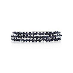 Mood - Blue crystal diamante bracelet set