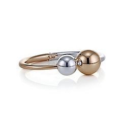 Mood - Two tone ball bangle