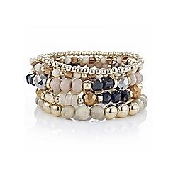 Mood - Multi bead stretch bracelet pack