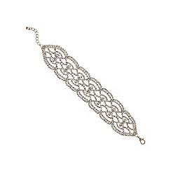 Mood - Rose gold crystal diamante bracelet