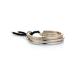Mood - Multi tone curved toggle bracelet