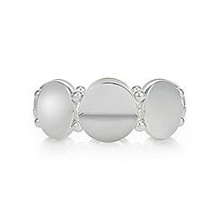 Mood - Silver half circle bracelet