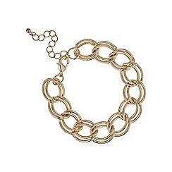 Mood - Rose gold chain link bracelet