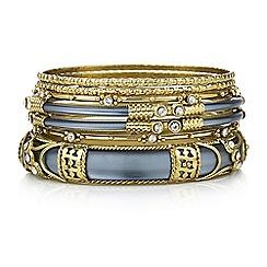 Mood - Embellished bangle set