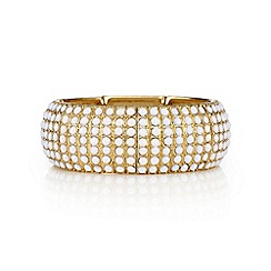 Mood - White stone gold bracelet