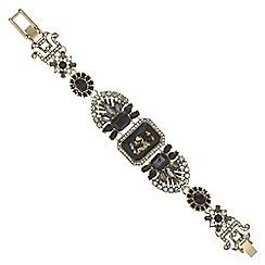 Mood - Crystal cluster statement bracelet