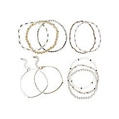 Mood - Beaded mix bracelet set