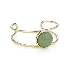 Mood - Crystal open cuff bracelet