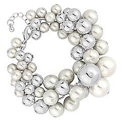 Mood - Pearl cluster bracelet