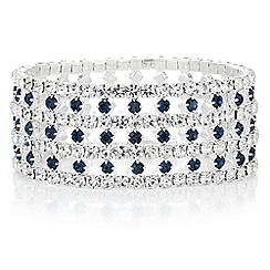 Mood - Diamante cut out bracelet