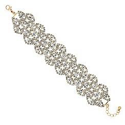 Mood - Gold crystal diamante bracelet