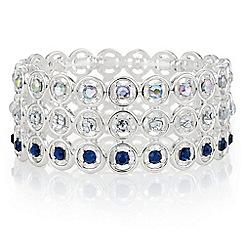 Mood - Open circle crystal bracelet