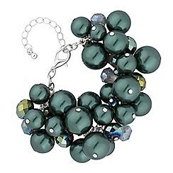 Mood - Green pearl bracelet
