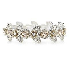 Mood - Crystal floral bracelet
