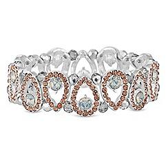 Mood - Pave peardrop bracelet