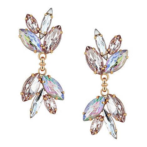 Butterfly by Matthew Williamson - Designer aurora borealis chandelier earring