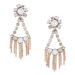 Butterfly by Matthew Williamson - Designer opalescent mini chandelier earring