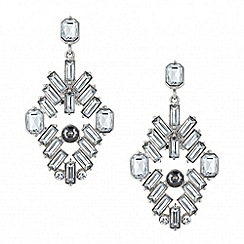 Butterfly by Matthew Williamson - Designer baguette stone chandelier earring