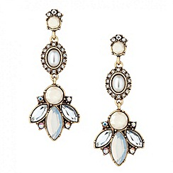 Butterfly by Matthew Williamson - Designer pearl and stone set chandelier earring