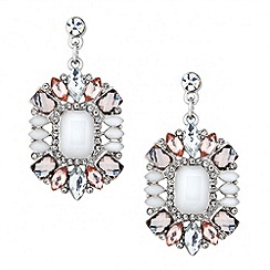 Butterfly by Matthew Williamson - Designer opalesque mixed stone drop earring