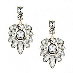 Butterfly by Matthew Williamson - Designer crystal navette chandelier earring