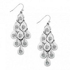 Butterfly by Matthew Williamson - Designer crystal peardrop chandelier earring