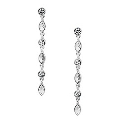 Butterfly by Matthew Williamson - Designer crystal linear drop earring