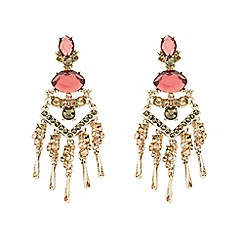 Butterfly by Matthew Williamson - Designer crystal embellished chandelier earring