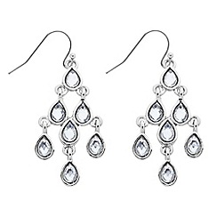 Butterfly by Matthew Williamson - Designer mini crystal chandelier drop earring