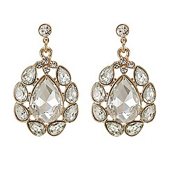 Butterfly by Matthew Williamson - Crystal navette chandelier earring