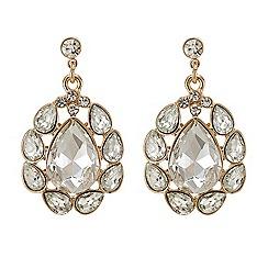 Butterfly by Matthew Williamson - Crystal navette chandelier earring