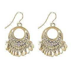 Butterfly by Matthew Williamson - Designer dream catcher inspired drop earring