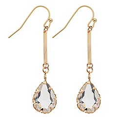 Butterfly by Matthew Williamson - Crystal teardrop earring